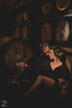 Buffalo Trace Weddings | Lexington Wedding Venues | Kentucky Bride | Bourbon Distillery Engagement | Engagement Photo Ideas | Engagement Photos for Grooms | Engagement Photo Inspiration | Bourbon Trail Rick Houses | Destination Wedding Photographers