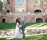 Featured on @wedding chicks ! Colorado Wedding At Glen Eyrie Castle