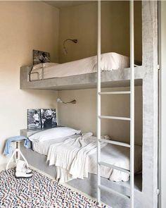 concrete bunk beds
