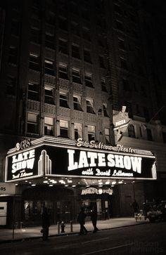 Ed Sullivan Theater | Letterman Show #NYC