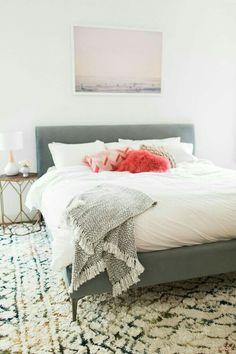Erste Wohnung, Schlafzimmer Ideen, Selbstgemachte Schlafzimmerdeko, Schöne  Schlafzimmer, Traum Schlafzimmer, Gastzimmer, Schlafzimmerdesign, ...