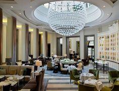 Design Hotel Corinthia near the Houses of Parliament London Hotels, Public Hotel, Lobby Lounge, Lobby Bar, Inspiration Design, Hotel Interiors, Commercial Design, Commercial Interiors, Restaurant Design