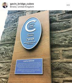Celebrating our Civic Society design award Design Awards, Bristol, United Kingdom, Bridge, Castle, The Unit, City, England