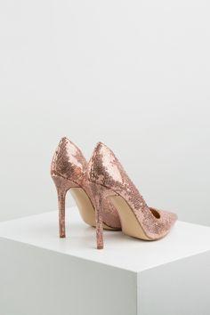 KACHOROVSKA / sequined high heel wedding pumps Wedding Pumps, High Heels, Shoes, Fashion, Moda, Zapatos, Shoes Outlet, Fashion Styles, High Heeled Footwear