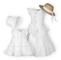 Sweet Eyelets - Girls Casual Dresses, Matching Sister Dresses.