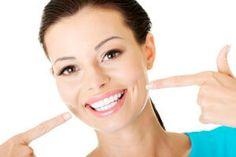 woman after healing teeth loss