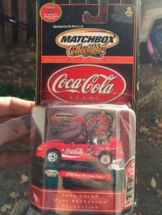 MATCHBOX COCA-COLA  '94 FORD MUSTANG  Cobra NEW IN PACKAGE #Matchbox