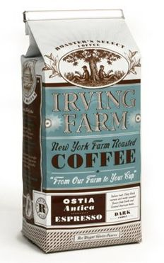 Irving Farm Coffee #packaging AM