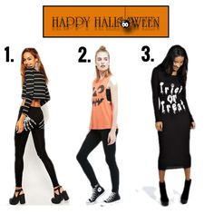 Happy Halloween! Which would be your halloween outfit today?