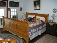 $124/ night, 20 each additional guest, dinner can be arranged with Amish family