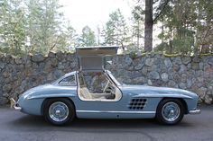 "1956 Mercedes-Benz 300SL Gullwing ""Tucson"" April 14, 2015 A freshly finished 300SL Gullwing by Rudi & Company. Complete nut and bolt, frame off, 100 point Concours ready with factory luggage, rudge wheels, and tools."
