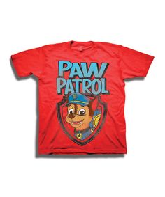 Look what I found on #zulily! Red PAW Patrol Tee - Toddler & Boys by PAW Patrol #zulilyfinds