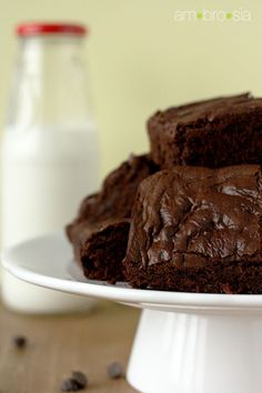 Bacon Brownies by Ambrosiabaking