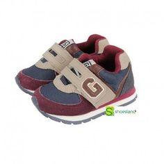 OUTLET Tu bebé comienza a caminar y quieres que vaya a la última moda como su papá? Escoge estos deportivos de niño de Gioseppo. Están pensados para comenzar a caminar sin renunciar a la moda. Del 20 al 24