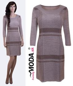 Béžova tunika pre moletky - trendymoda.sk Dresses For Work, Fashion, Moda, Fashion Styles, Fashion Illustrations