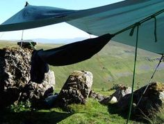 How to hang a camping hammock