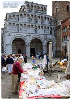 The market in Lucca