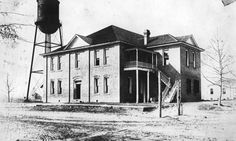Florida Memory - Holmes County courthouse in Bonifay 1912