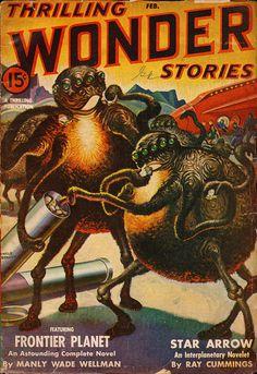 Thrilling Wonder Stories, February 1943