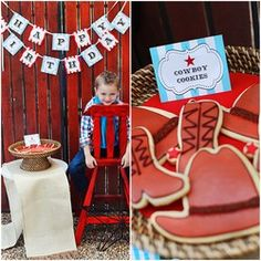Cute Birthday ideas for little cowboys and cowgirls!