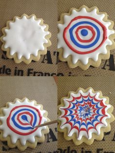 Firework Cookie How To