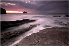 Trebarwith Strand, Cornwall, UK  Picture by Ian Flindt