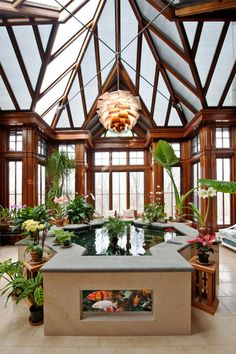 Amazing Indoor Garden Designs