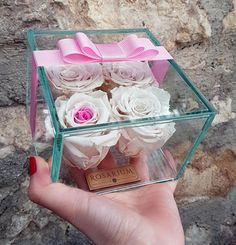 4 Rosarium RoseBox Live Forever Roses Forever Rose, Roses, Ice Cream, Live, Trending Outfits, Unique Jewelry, Handmade Gifts, Desserts, Etsy