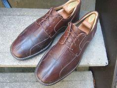 Vintage Johnston & Murphy Mens Used Brown by VintageClassicWares, $42.00