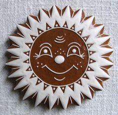 Ginger Cookies, Fun Cookies, Gingerbread Man, Gingerbread Cookies, Cookie Decorating, Food And Drink, Cupcakes, Xmas, Cookies