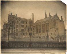 Curtis High School, Hamilton Avenue & Saint Mark's Place, Saint George, Staten Island Gothic style, attached to church.(via Municipal Archives)