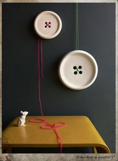 Bonkers About Buttons: A Whole Lot of Lovely ~ Shop with large porcelain buttons for sale!