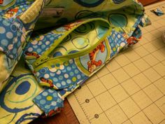 July 2015 Top pocket of Tigger bag made for Kevin coworker a baby gift