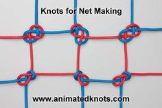 Know your knots! One of the best skills to master for an emergency situation is knot tying. First off is this knot for net making.
