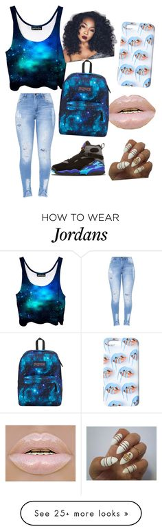 """Casual/School Day"" by queenshelton on Polyvore featuring JanSport"