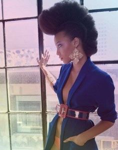 Natural Mohawk  she is simply stunning ct
