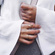 Stacked Rings, Piece Of Me, Flare, Cufflinks, Wedding Rings, Style Inspiration, Engagement Rings, Photo And Video, Videos