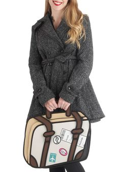 I dont even understand this bag.... But I want it badly Drawn to Discover Bag, #ModCloth