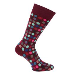 Paul Smith Accessories Raspberry Multi-Polka Socks