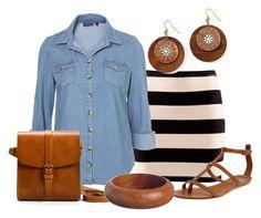 Estilo Casual by outfits-de-moda2 on Polyvore featuring moda, H&M, Dolce Vita, Zara, Decree and K. Amato