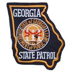 georgia state police patches | Georgia State Patrol Patch
