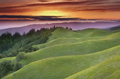 I want to quilt this! Faultlines - Mt. Tamalpais, Marin County, California by PatrickSmithPhotography