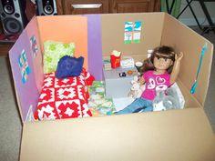 AG doll DIY room idea