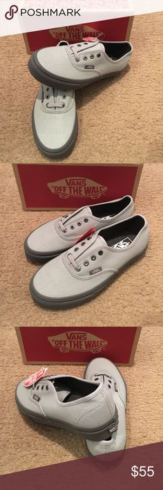 ac95d53d7f Authentic C D Vans New in box. High rise pewter Vans Shoes Sneakers Fitness  Shoes