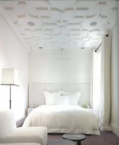 All White w/ amazing ceilings