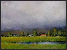 Rainclouds Breaking by Dave Stout Pastel ~ 8 x 10
