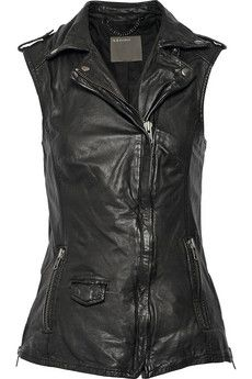 Handy how biker styles really translate to the zombie apocalypse. I like that this vest is longer than most.