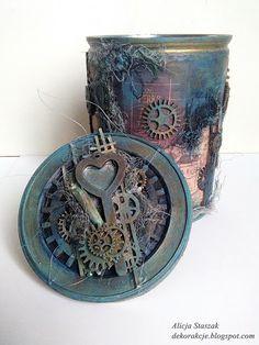 Berry71bleu : Altered Tin - Guest Designer - Alicja Staszak
