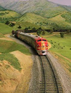 Model Train Scenery HO at www.modelleisenbahn-figuren.com
