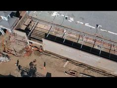 Ric Hansen Projects - The Oval Shopping Centre - Ladysmith - Building Extensions Building Extension, Building Foundation, Road Construction, Central Business District, Kwazulu Natal, Pretoria, Rural Area, Shopping Center, Aerial View